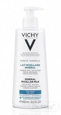 VICHY PURETE THERMALE MINERAL Micelárne mlieko dry skin 1x400 ml