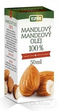 Virde MANDĽOVÝ OLEJ 100% 50 ml