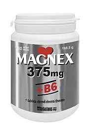 Vitabalans MAGNEX 375 mg + B6 180 tabliet