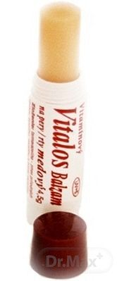 Vitalos balzam na pery medový UV5+ 4,5 g
