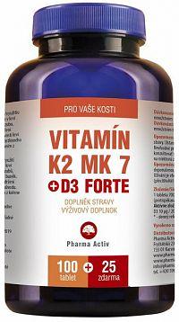 Vitamín K2 MK-7 + D3 125 tbl.