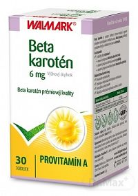 WALMARK Beta karotén 6 mg cps 1x30 ks
