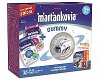 WALMARK Marťankovia GUMMY želatínové tablety (s echinaceou 50 + s bazou čiernou 50) (100 ks) + kozmochrobák, 1x1 set