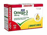 WALMARK Omega 3 rybí olej FORTE 120+60 kapsúl