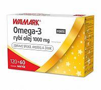 WALMARK Omega-3 rybí olej FORTE cps 120+60 navyše (180 ks)
