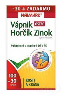 WALMARK Vápnik Horčík Zinok Osteo komplex tbl 100+30 ks (1x130 ks)
