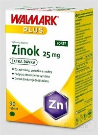 WALMARK Zinok FORTE 25 mg tbl 1x90 ks