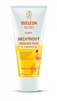 WELEDA Nechtíkový dojčenský krém krém na zapareniny, 75 ml