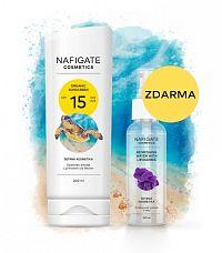 NAFIGATE Organic Sunscreen SPF 15 (200ml opalovací krém s prírodným polymerom P3HB)