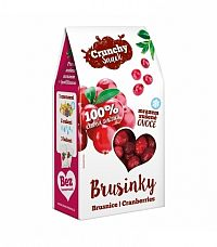 Royal Pharma Crunchy Snack, mrazom sušené kanadské Brusnice, 20g