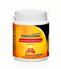 Superionherbs Red Reishi Extrakt - Ganoderma Duanwood - Superionherbs, 90 kps x 500 mg