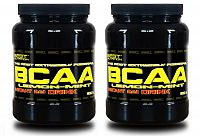 1+1 Zadarmo: BCAA Instant Drink od Best Nutrition 500 g + 500 g Citrón+Mint