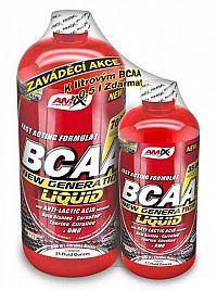 1+1 Zadarmo: BCAA New Generation Liquid - Amix 1000 ml + 500 ml  Lemon-Lime
