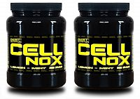 1+1 Zadarmo: CellNOX Muscle Pump od Best Nutrition 625 g + 625 g Citrus
