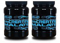 1+1 Zadarmo: TriCreatine Malate prášok od Best Nutrition 500 g + 500 g Neutrál