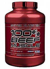 100% BEEF Muscle - Scitec Nutrition 3180 g Vanilka