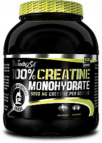 100% Creatine Monohydrate - Biotech USA
