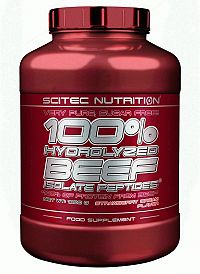 100% Hydrolyzed BEEF - Scitec Nutrition 1800 g Jahoda