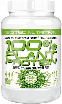 100% Plant Protein od Scitec Nutrition 900 g Chocolate Praline