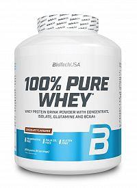 100% Pure Whey - Biotech USA 2270 g dóza Gaštan