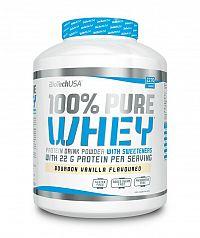 100% Pure Whey - Biotech USA 2270 g dóza Karamel+Kapučíno