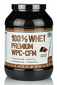100% Whey Premium WPC-CFM - Body Nutrition 1000 g Vanilla-Strawberry