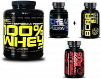 100% Whey Professional Protein - Best Nutrition 2250 g + BCAA+Kreatín Jahoda