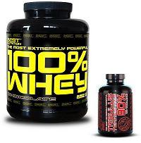 100% Whey Professional Protein od Best Nutrition 2250 g Jahoda