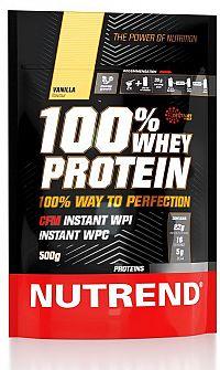 100% Whey Protein 500 g od Nutrend 500 g Malina