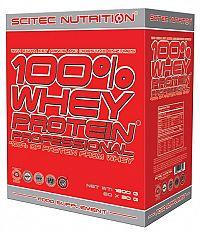100% Whey Protein Professional nasáčkovaný - Scitec Nutrition 60 x 30 g Mix