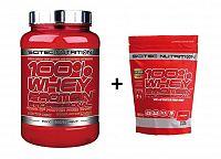 100% Whey Protein Professional od Scitec Nutrition 2350 g Jahoda+Biela čokoláda