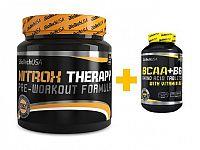 Akcia: Nitrox Therapy + BCAA+B6 - Biotech USA 340 g + 100 tbl. Brusnica
