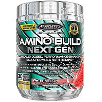 Amino Build Next Gen - Muscletech 276 g (30 dávok) White Raspberry