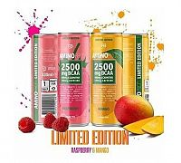 Amino Pro 2500 mg BCAA Drink - FCB Sweden 330 ml. Raspberry