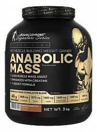 Anabolic Mass 3,0 kg - Kevin Levrone 3000 g Strawberry+Banana