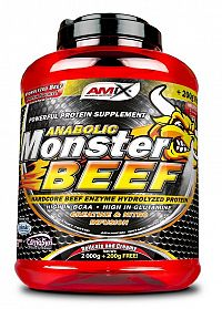 Anabolic Monster Beef - Amix 2200 g Jahoda-banán