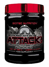 Attack 2.0 - Scitec Nutrition 25 x 10 g Cherry