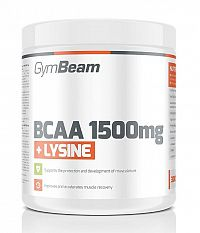 BCAA 1500 mg + Lysine od GymBeam