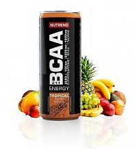 BCAA Energy Drink - Nutrend 330 ml. Tropical