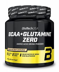 BCAA+Glutamine Zero - Biotech USA 480 g Lemon