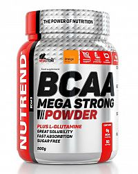 BCAA Mega Strong Powder od Nutrend 1 dávka 10 g Pomaranč