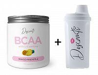 BCAA with L-Carnitine + Šejker Zadarmo - Descanti 210 g + 700 ml. Mango+Pineapple