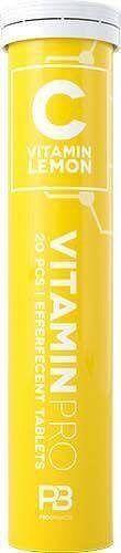 C Vitamin Pro - FCB Sweden 20 tbl. Lemon