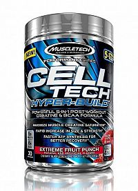 Celltech Hyper-Build - Muscletech 486 g (30 dávok) Blue Raspberry Blast