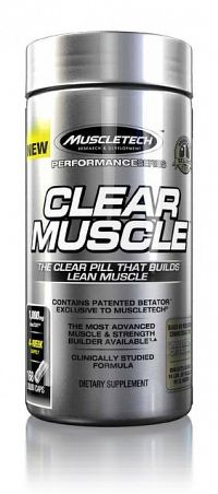 Clear Muscle - Muscletech 168 kaps.