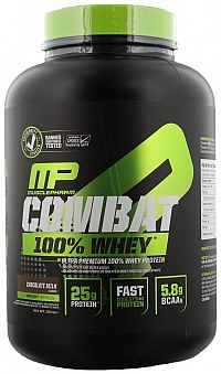Combat 100% Whey Protein - Muscle Pharm 1814 g Strawberry