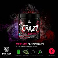 Crazy 8 - Swedish Supplements 260 g Blue Ice Rocket