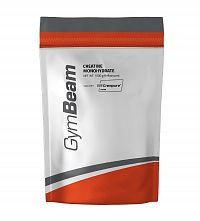 Creatine monohydrate Creapure - GymBeam 500 g Orange