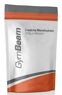 Creatine Monohydrate - GymBeam 500 g Green Apple
