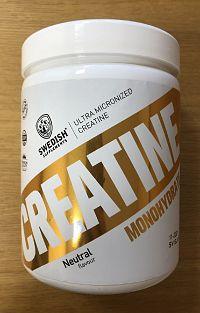Creatine Monohydrate - Swedish Supplements 500 g Neutral